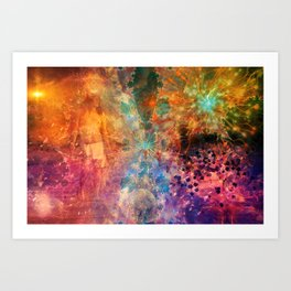 Journey Through The Unknown Art Print