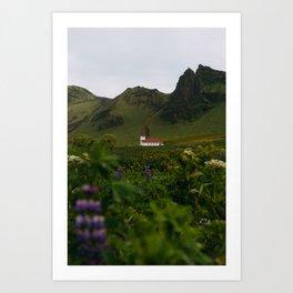 Vík, Iceland Art Print