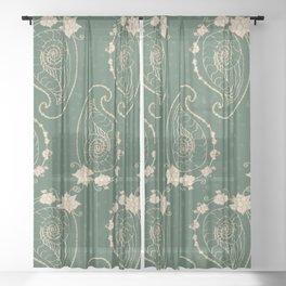 Praisley Sheer Curtain