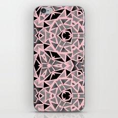 Pink Stones Mosaic iPhone Skin
