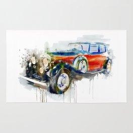 Vintage Automobile Rug
