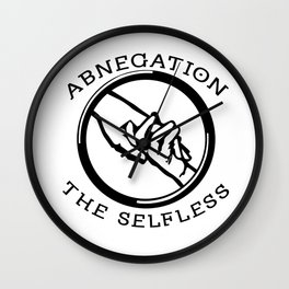 Divergent - Abnegation The Selfless Wall Clock
