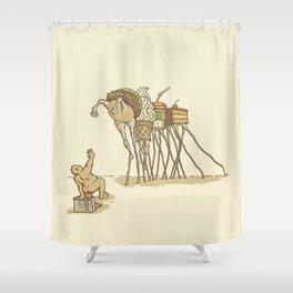 THE TEMPTATION Shower Curtain