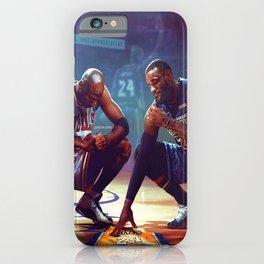 Lebron Jordan Ko-be Memorial Glossy Poster iPhone Case