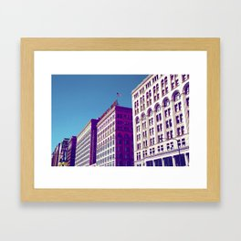 Chicago Buildings 6 Framed Art Print