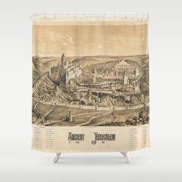 Ancient Jerusalem, A.D. 65 Shower Curtain