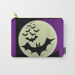 Bats and Moon Carry-All Pouch
