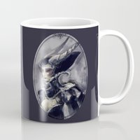 evil queen Mugs featuring The Evil Queen by Mar del Valle