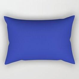 Walmart blue (1981–1992) - solid color Rectangular Pillow