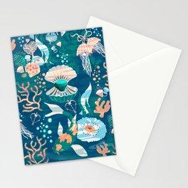 Magical Ocean Garden Stationery Cards