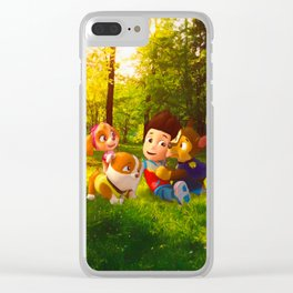 PAW PATROL Clear iPhone Case