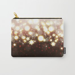 Stars Can't Shine Without Darkness sparkly lights stardust and fireworks art Carry-All Pouch