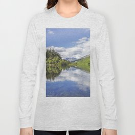 Llyn Mymbyr and Snowdon Long Sleeve T-shirt