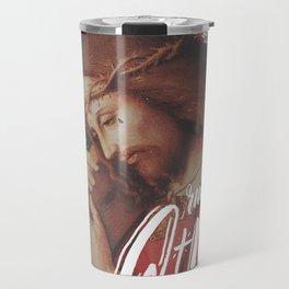 Carregou sua própria cruz Travel Mug