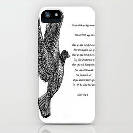 God Called Your Name iPhone Case