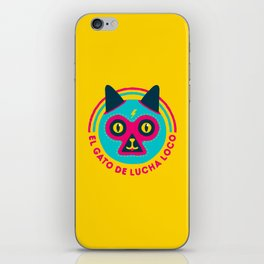 LUCHADORABLE iPhone Skin