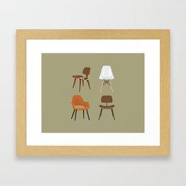 Eames Design Framed Art Print