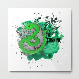 The Cunning Snake Metal Print