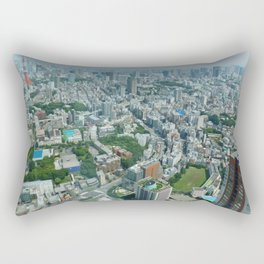 G-R-E-E-N  T-O-K-Y-O Rectangular Pillow