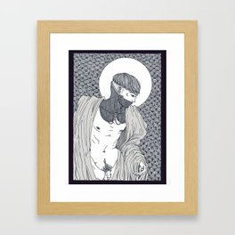 Orcus Framed Art Print