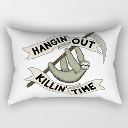 Hangin' Out Sloth Shirt Rectangular Pillow