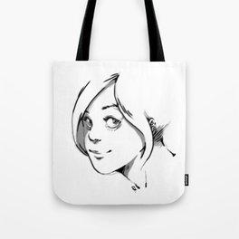 SMILE AT ME. Tote Bag