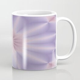 Pink and Lilac 3D Flower Three Coffee Mug