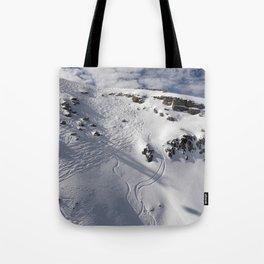 Ski Slopes Tote Bag