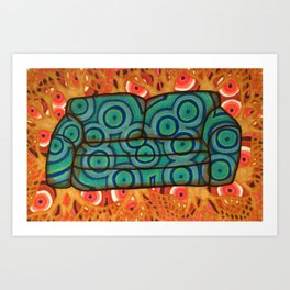 Couch 003 Art Print