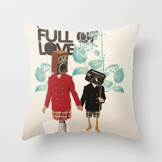ALL IS FULL OF LOVE Throw Pillow