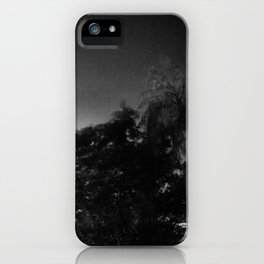 stormy landscape iPhone Case