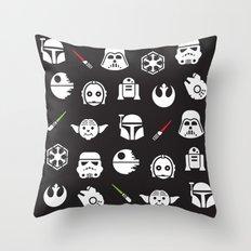 Pattern Wars Throw Pillow