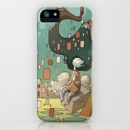 It Was Just a Dream iPhone Case
