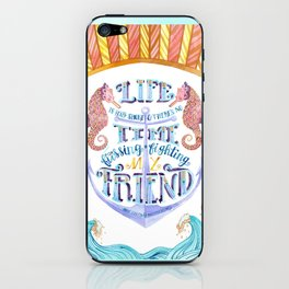 Life is Very Short iPhone Skin