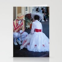 mary poppins Stationery Cards featuring Mary Poppins by Christa Morgan ☽