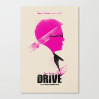 drive Canvas Prints featuring Drive by Ian Wilding