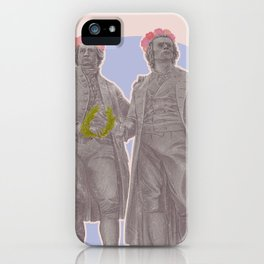 Poets and Thinkers and Flowers iPhone Case