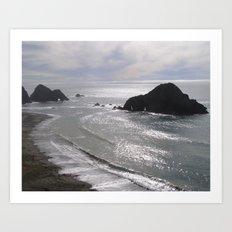 Beach I Art Print
