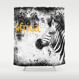 Africa II Shower Curtain