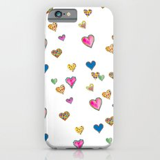 Falling hearts Slim Case iPhone 6s
