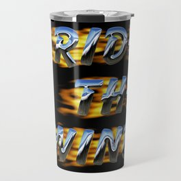 Ride the Wind Travel Mug