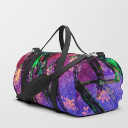 Palm Frond + Beyond [twilight] Duffle Bag