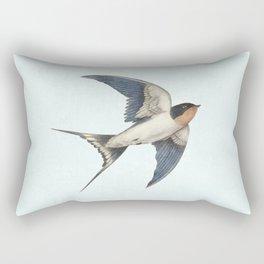 Barn Swallow - option Rectangular Pillow