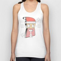 merry christmas Tank Tops featuring Merry christmas by AmDuf