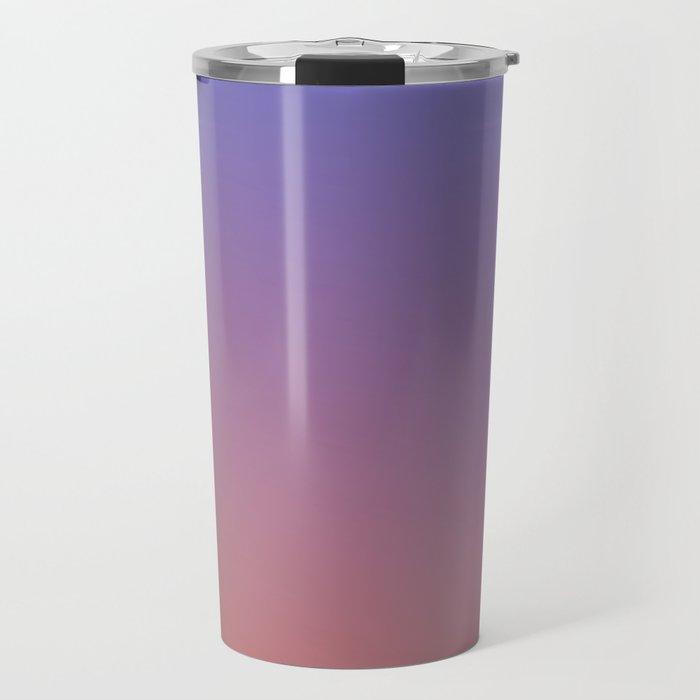 OXIDISED METAL - Minimal Plain Soft Mood Color Blend Prints Travel Mug