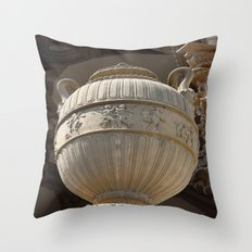 Decorative Urn - Palace Of Fine Arts SF Throw Pillow