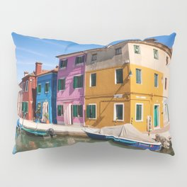 Colorful houses Pillow Sham