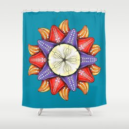 A Dollar for Your Sea Stars Shower Curtain