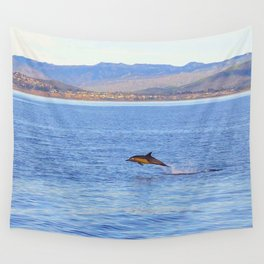 Porpoise in Pursuit Wall Tapestry