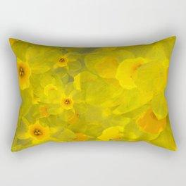Narcissus bouquet Rectangular Pillow